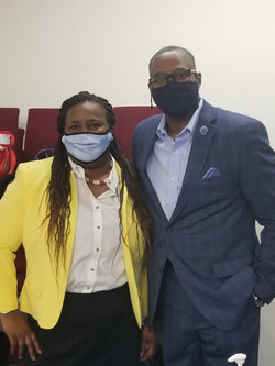 Pearlene Fields and Bishop Wesley Knight
