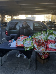 MLK Day of Service - Food distribution