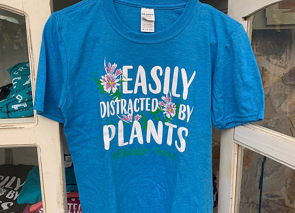 """EasilyDistracted by Plants"" Tee"