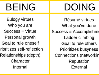 Are your EULOGY virtues more important than a resume virtues...