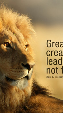 Are you a LEADER who is creating more leaders at all levels...