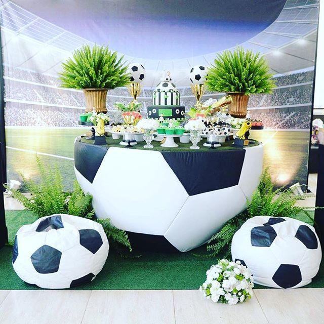 Festa Futebol - Aniversário Infantil