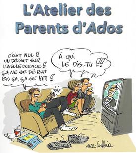 Ateliers de parents- spécial Adolescent dès le 23/01
