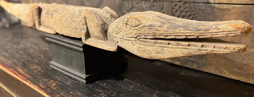 Krokodil Holz