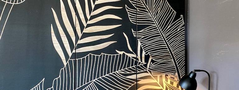Wandbild Holz