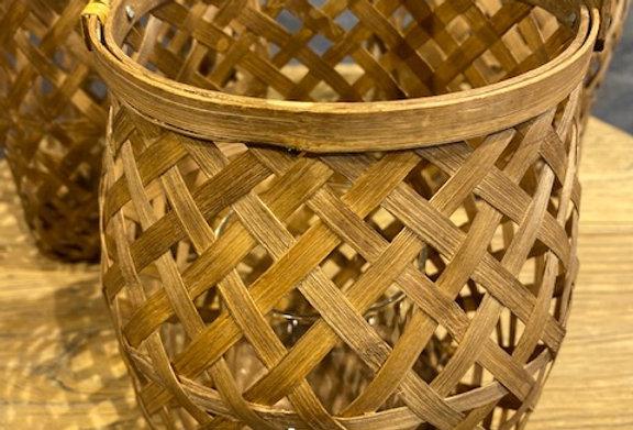 Laterne Bambusholz
