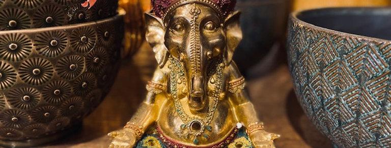 Ganesha sitzend