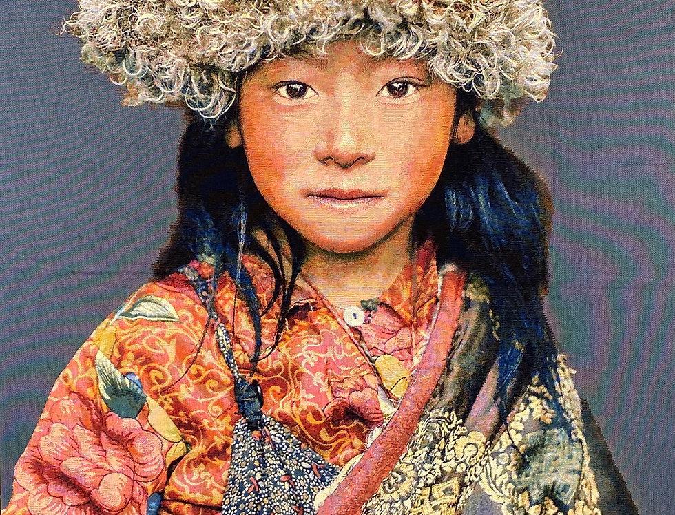 Mongolenmädchen