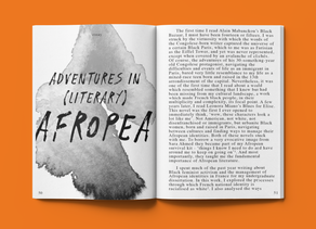 Adventures in (Literary) Afropea - Sophie Marie Niang
