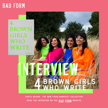"""If no one else wants to listen to us, we'll listen to each other."" An Interview with 4 BROWN GIRLS"
