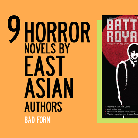 9 spine-chilling horror novels from East Asian authors