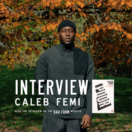 """When does a waterfall become a waterfall?"" an Interview with Caleb Femi"