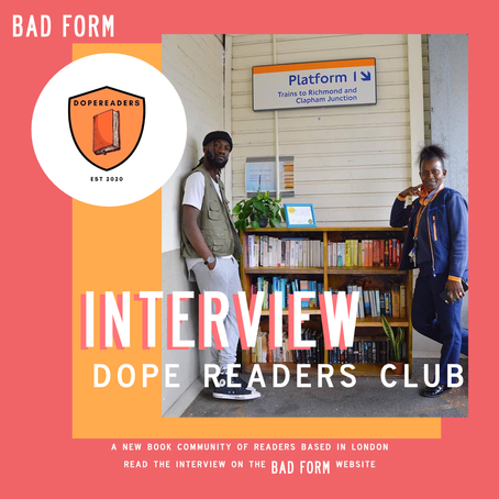 An Interview with Dope Readers Club