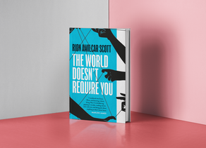 The World Doesn't Require you - Rion Amilcar Scott Review