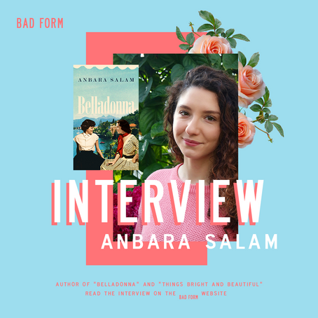 """It's important to challenge that narrative,"" an Interview with Anbara Salam"