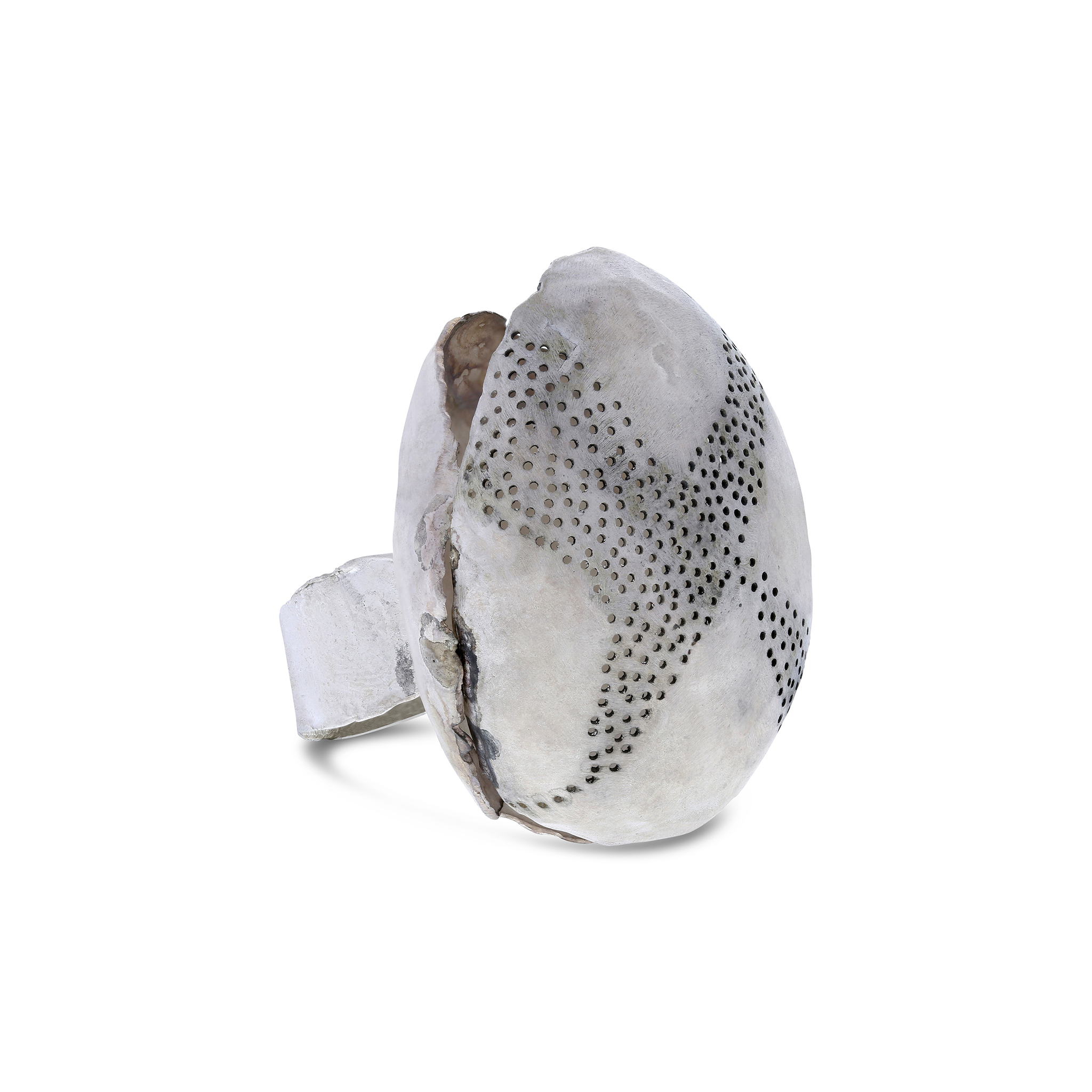 Perforated orb ring