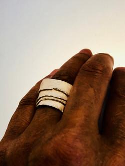 Wedding cake wrap ring