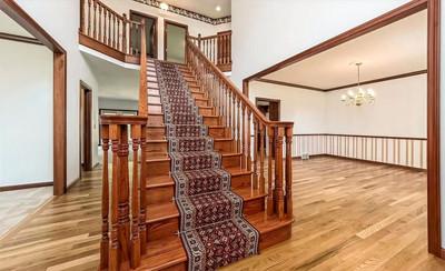 Lake Family Home - Grand Staircase  PC_