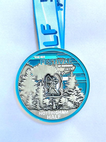 Virtual Half Marathon - Nottingham 2019