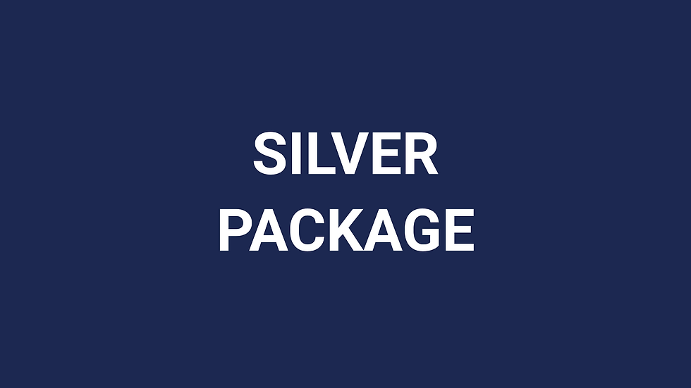 Silver Package (50%)