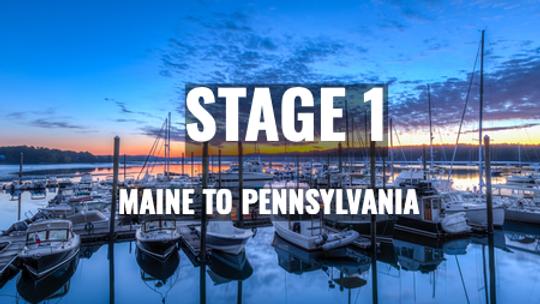 Maine to Pennsylvania