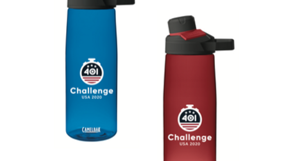 USA Challenge Water bottle
