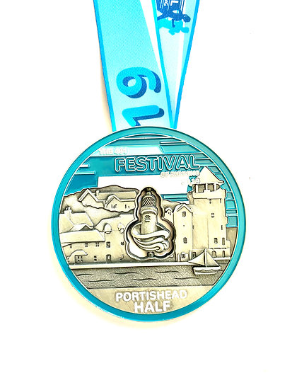 Virtual Half Marathon - Portishead 2019