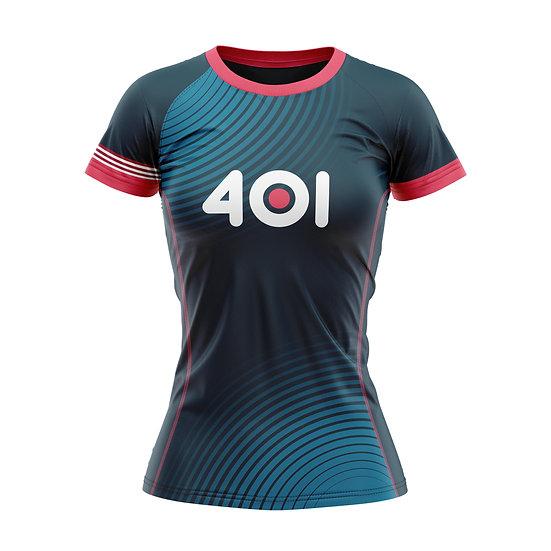 Female Technical T-Shirt - Blue
