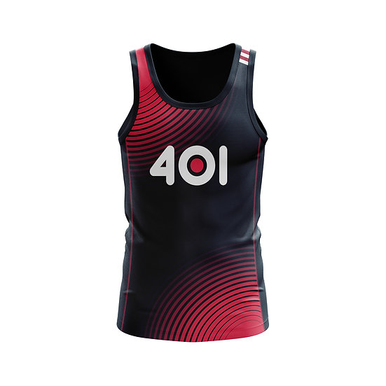 Male Technical Vest - Red