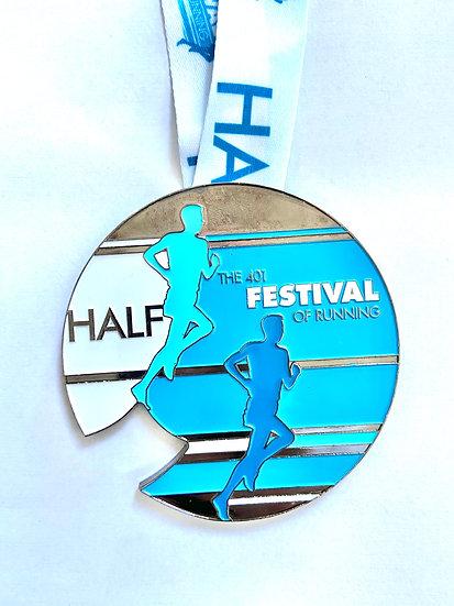 Virtual Half Marathon - Portishead 2017