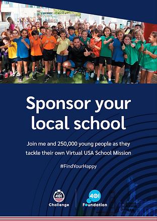 Sponsor Your Local School Brochure