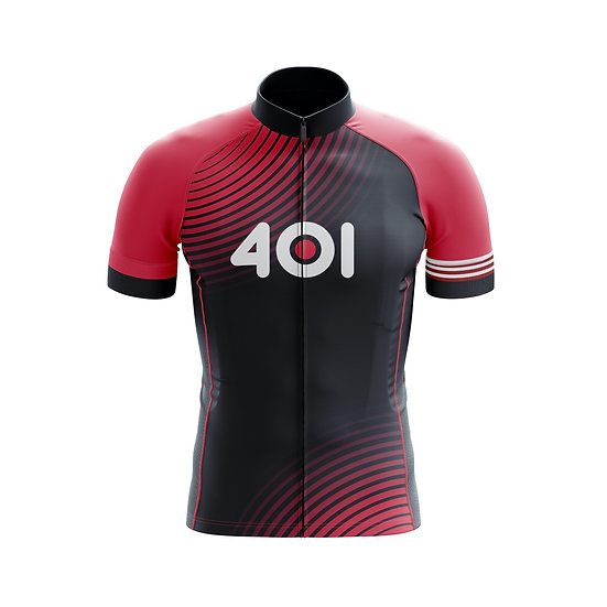 Male Cycling Jersey - Red