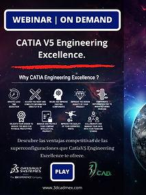 WEBINAR ON DEMAND Catia Engineering Exce