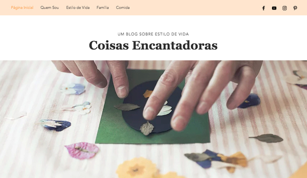 Blogs e Fóruns website templates – Blog de estilo de vida para mães
