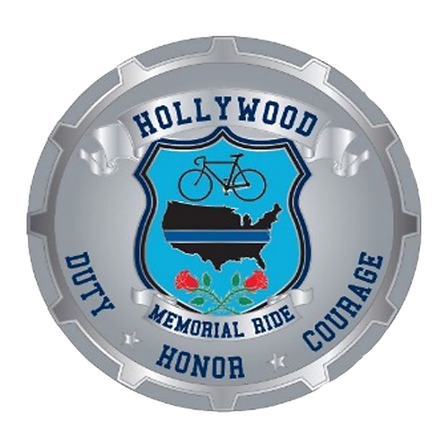 2017 Hollywood Memorial Ride Challenge Coin (Pre-Order)