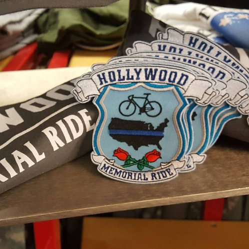 Hollywood Memorial Ride Patch