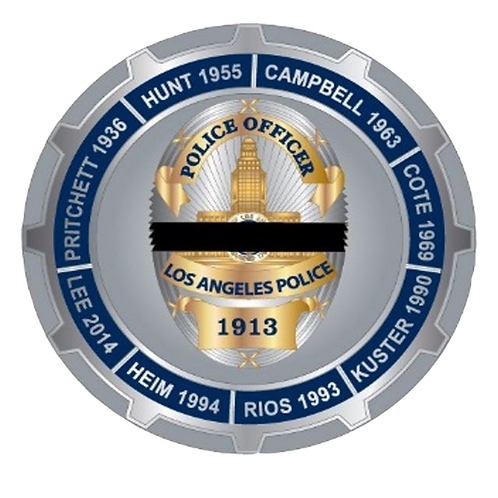 2017 Hollywood Memorial Challenge Coin