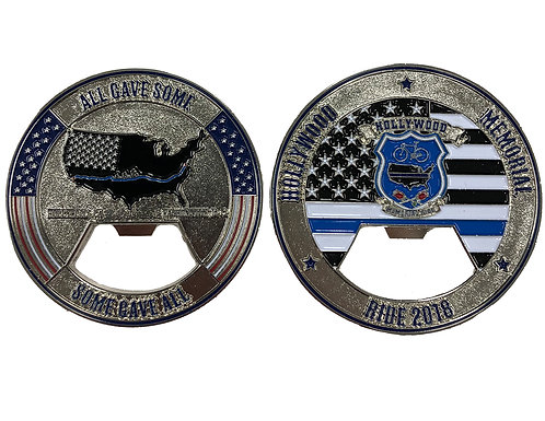 2018 Hollywood Memorial Ride Challenge Coin