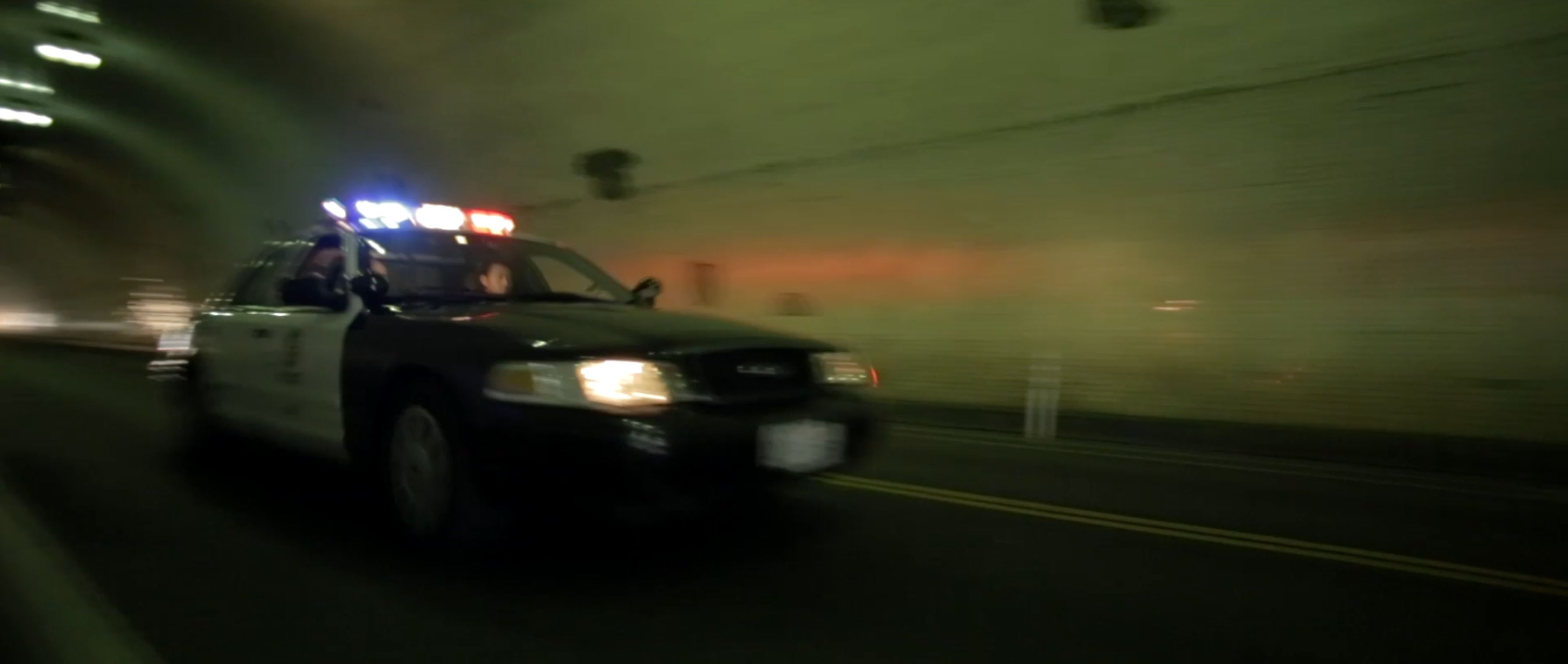 LAPD cruiser - 2nd street tunnel.JPG