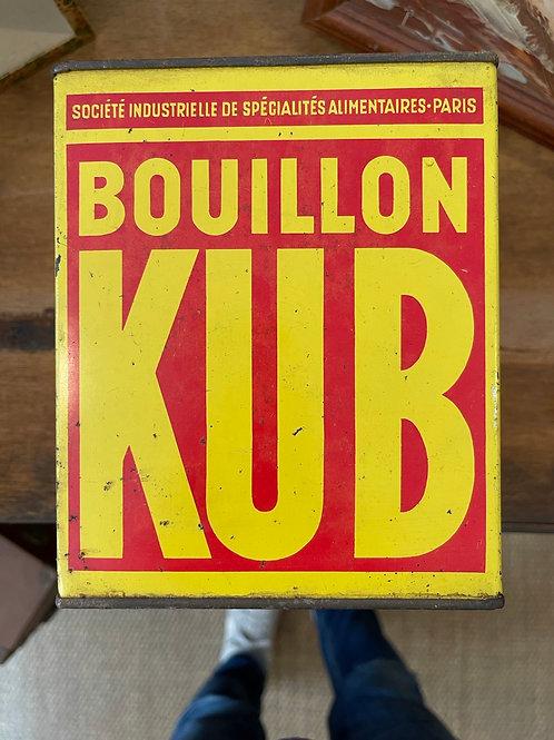 Boîte en métal bouillon  KUB