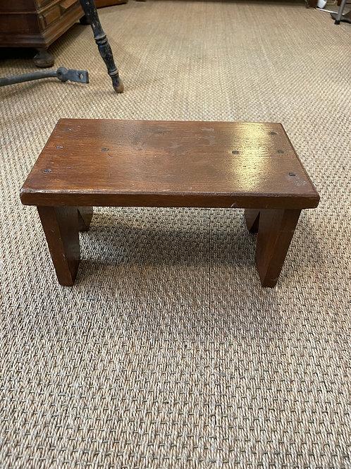 Mini banc en bois