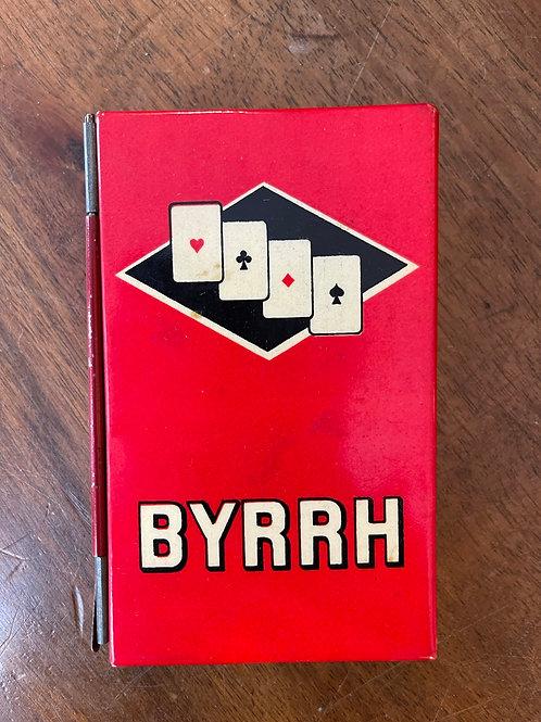 Porte cartes publicitaire