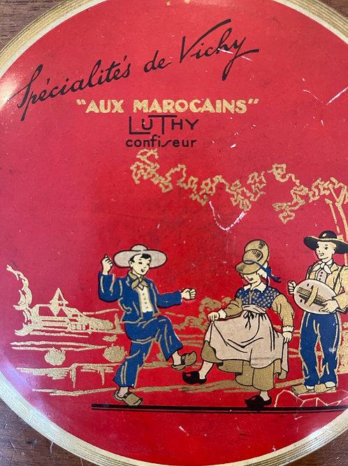 Boîte en métal «aux marocains» Luthy