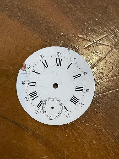 Cadran de montre en émail