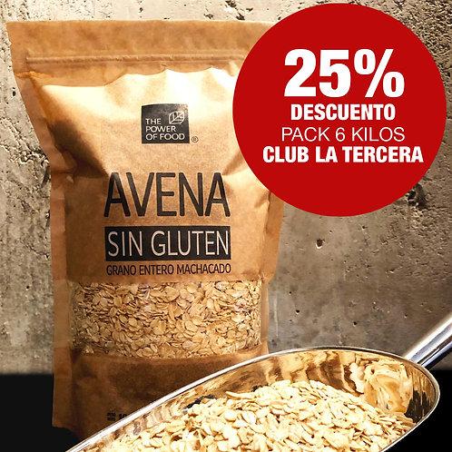Pack Promoción de 6 kilos - Club La Tercera
