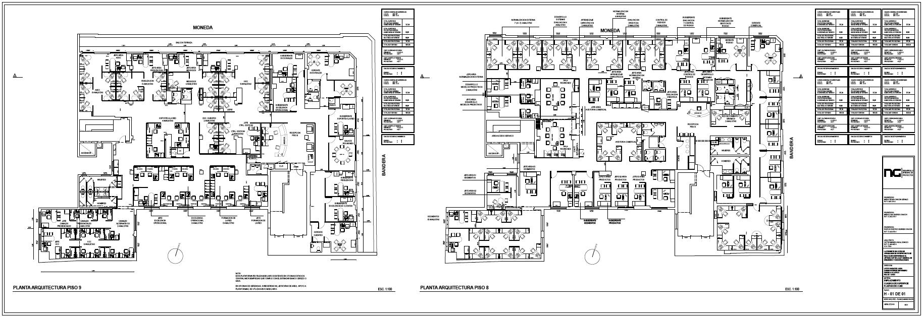 BANDERA 84 / 2.100 m2 Oficinas