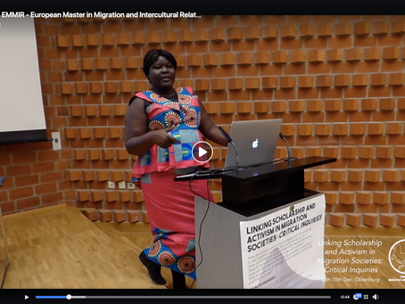 Video: a glimpse of the 'Linking Scholarship and Academia in Migration Societies' EMMIR conference