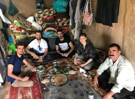 Oliver's 3rd semester internship in Iraq