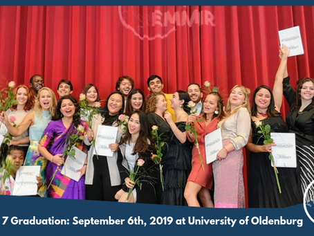 Cohort 7 students graduate with M.A. in Migration and Intercultural Relations