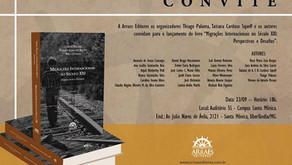 """EMMIR C8 Students contribute to book, """"Migrações Internacionais no Século XXI"""""""